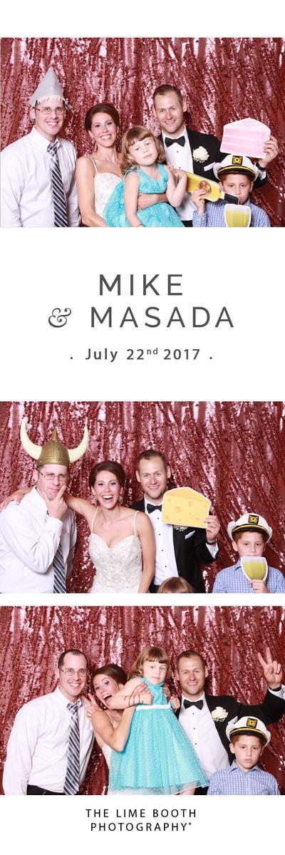 Masada and Mike Wedding