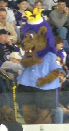 Slapshot - the Royals mascot