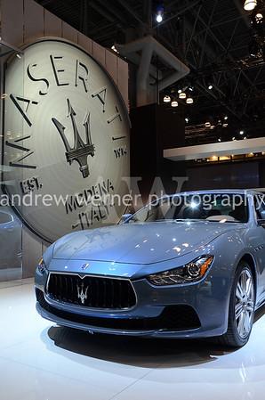 Maserati x Zegna 2015 NY Auto Show