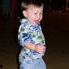 Trevor---the baby and a party animal at 19 months!