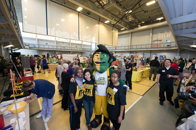 Health & Fitness Expo at Freedom Aquatic & Fitness Center on Prince William campus. Photo by Evan Cantwell/Creative Services/George Mason University