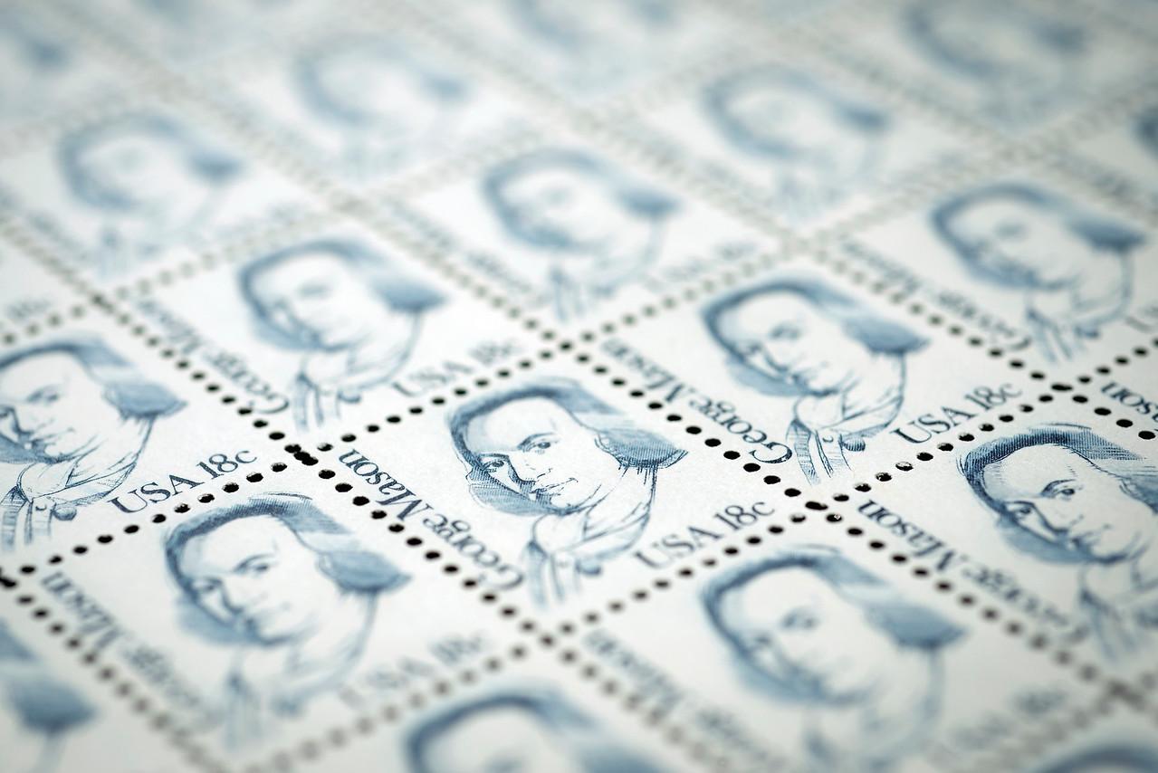 George Mason stamp