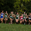 George Mason University women's cross country team competes in the 2014 George Mason University Invitational at the Oatlands Plantation in Leesburg, Va. on October 4, 2014. Photo by Craig Bisacre/Creative Services/George Mason University.