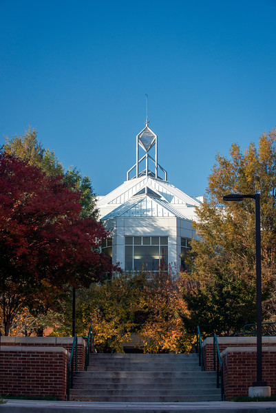 Johnson Center in Fall
