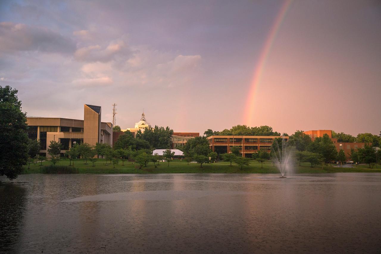 Mason pond rainbow