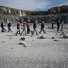 Cedar Mountain Stone Quarry Engineering Geology Class field trip