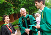 President Alan Merten at Commencement. Photo by Creative Services.