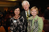 Martha Reiner (retired) and Alan and Sally Merten at the Outstanding Acheivement Award ceremony. Photo by Evan Cantwell