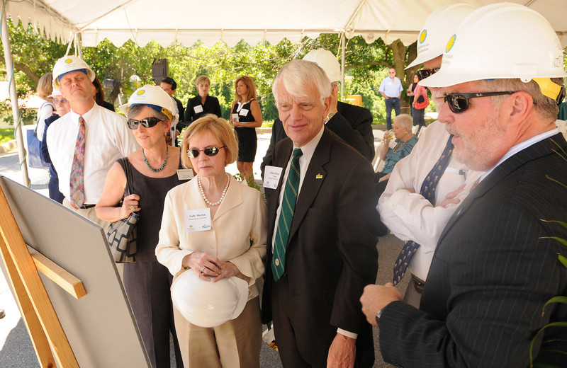 Smithsonian-Mason Groundbreaking Ceremony at Front Royal, Virginia. Photo by Evan Cantwell
