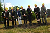 The ceremonial groundbreaking for the Hylton Performing Arts Center in 2006 on the Prince William Campus. Photo by Evan Cantwell