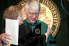 Dr. and Mrs Merten at the 2005 commencement. Mrs. Merten received the George Mason Medal. Photo by Evan Cantwell