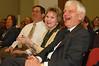 Dr. and Mrs. Merten sitting beside Jack Censer, CHSS dean, during the 2006 Employee Recognition Awards.