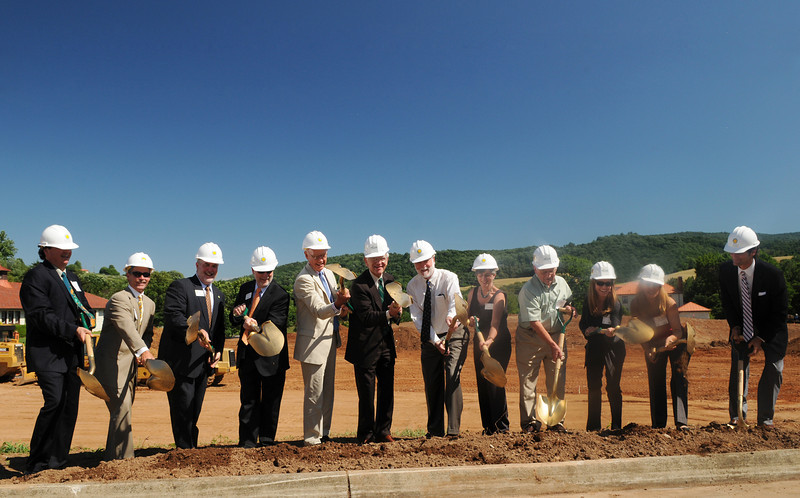 Smithsonian-Mason Groundbreaking Ceremony. Photo by Evan Cantwell