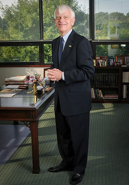 President Alan Merten, 2008. Photo by Evan Cantwell.