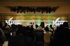 President Alan Merten speaking at the Mason Nation Farewell Tribute.