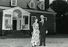 President Alan Merten and wife Sally on a 1996 tour of Gunston Hall.