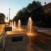 Fountains on the Fairfax Campus