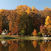 Mason pond in Fall
