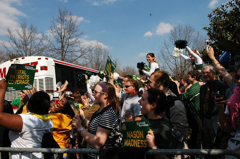 Final Four Men's Basketball send off