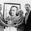 George Mason stamp ceremony, Gunston Hall, April 24, 1981