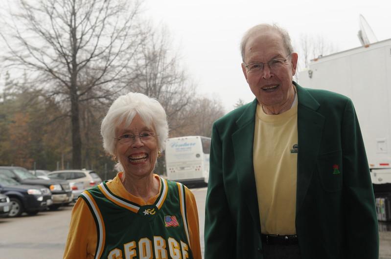 President Emeritus George Johnson and Joanne Johnson