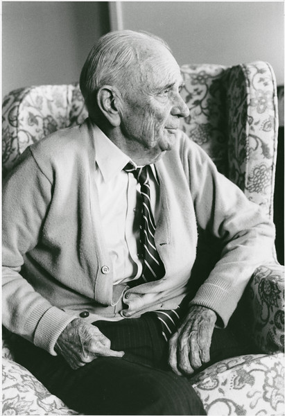 Clarence J. Robinson, whose 1984 bequest to the university, established the Robinson Professors. Robinson Professors are outstanding scholars who come from senior positions outside the university and are dedicated to teaching undergraduate students.