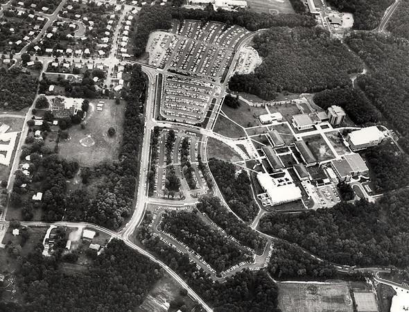 George Mason University campus aerial taken in 1974.