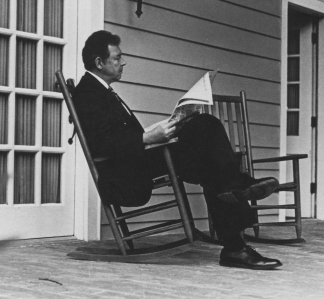 George Johnson, former president, George Mason University