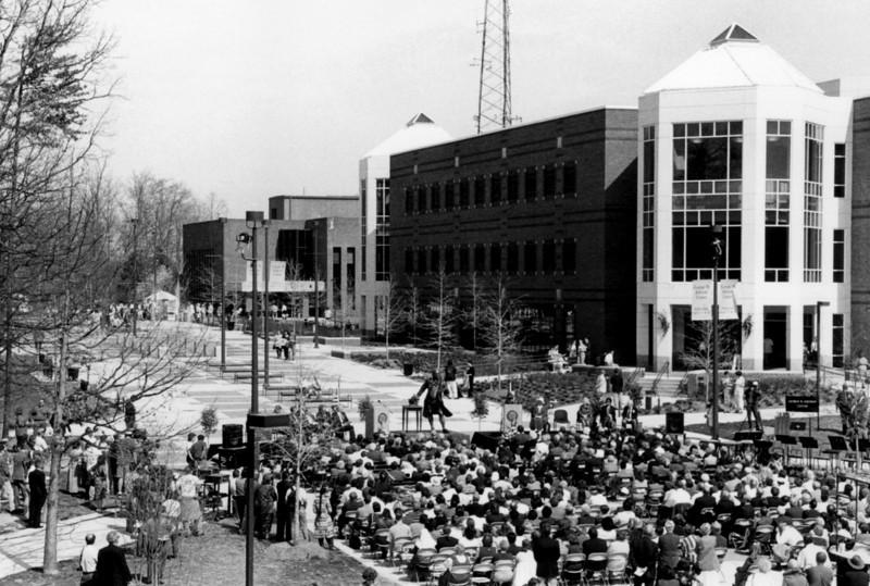 Johnson Center Dedication
