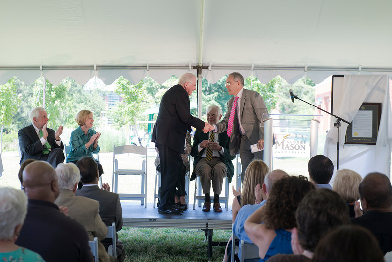 Unveiling of the Alan and Sally Merten Hall