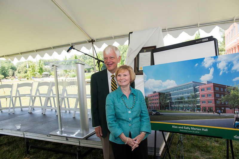 Unveiling of Alan and Sally Merten Hall