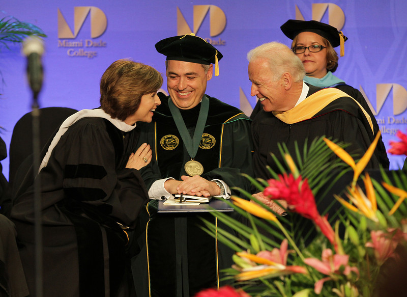 Dr. Cabrera at Miami Dade College