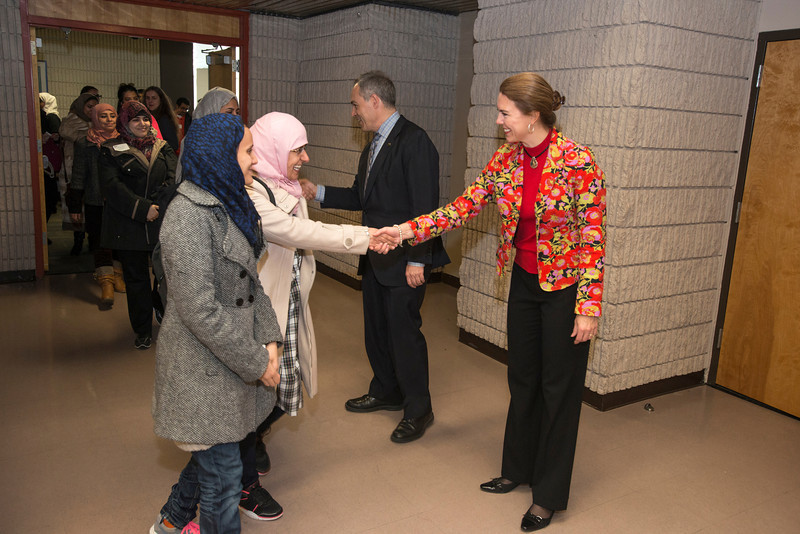 Presidential Reception for International Students