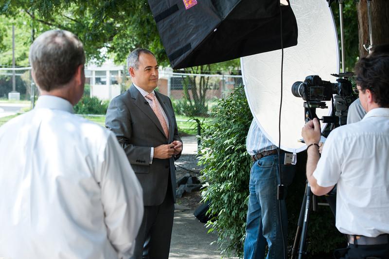 President-elect Ángel Cabrera. Photo by Alexis Glenn/Creative Services/George Mason University