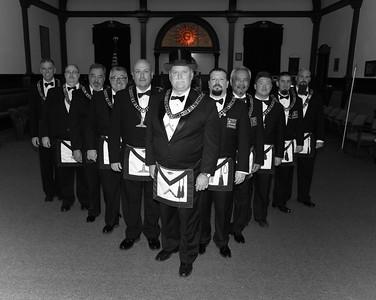 Redlands Lodge #300 Installation of Officers 2014