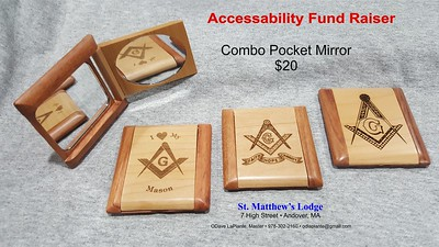 Combo Pocket Mirror