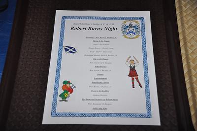 SML Robert Burns Nite 15-1-24