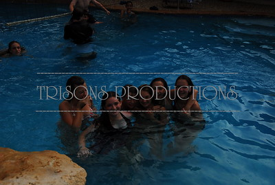 Mason's and John Colby Luau Swim Party