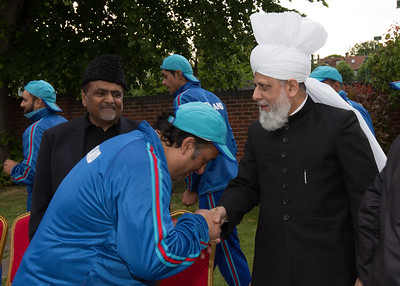International Masroor Cricket individuals meet Huzur (48 of 349)