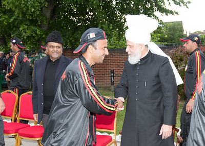 International Masroor Cricket individuals meet Huzur (39 of 349)