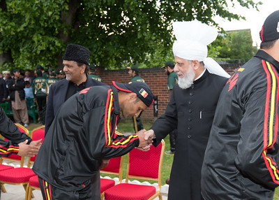 International Masroor Cricket individuals meet Huzur (34 of 349)
