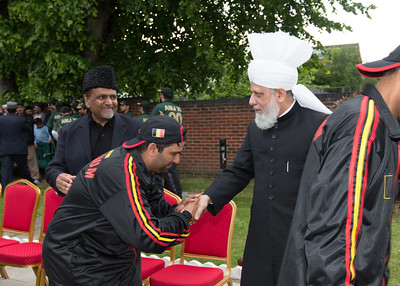 International Masroor Cricket individuals meet Huzur (35 of 349)