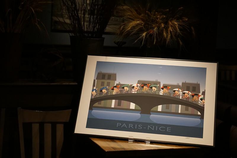 Pre-auction showing: Paris-Nice