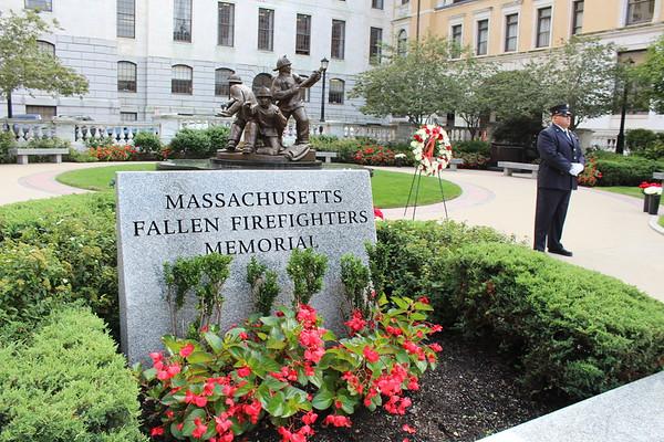 Mass. Fallen Firefighter Memorial - Sept. 11, 2018