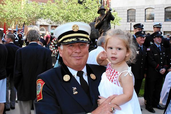 Mass Fallen Firefighters Memorial Sept. 11, 2016