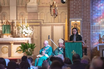 Archbishop Gregory Mass at St Francis Xavier Church