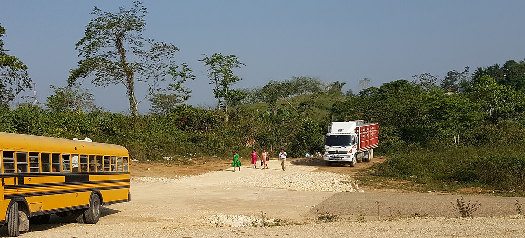 Many Guatemalans crossed the border on foot