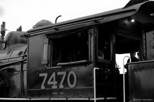 Engine 7470 before the trip 13