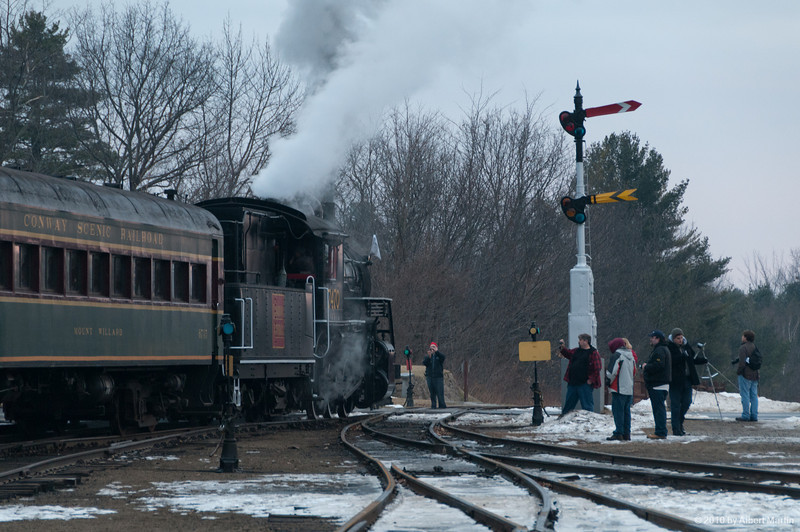 Entering North Conway Station 12