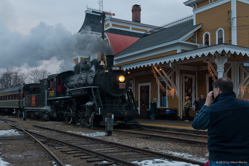 Entering North Conway Station 10